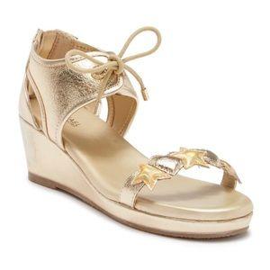 Michael Kors Gold Heart & Star Sandals